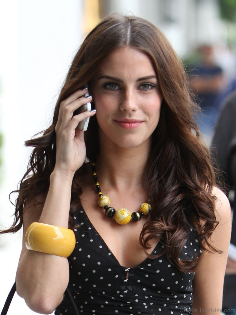 55 fantastic hairstyles of jessica lowndes